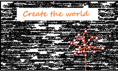 """Project visual Marionnettes """"Create the world"""""""