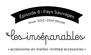 Visuel du projet Les Inséparables * Accessoires en maille 100% made in Belgium with love*