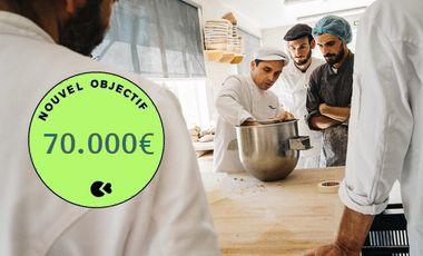 Visueel van project The international bakery school has a big project: To survive!