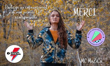 Project visual Premier EP écoresponsable de MC MaZiCa