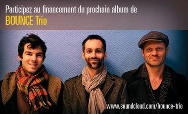 Visueel van project Bounce Trio:  Album 2014
