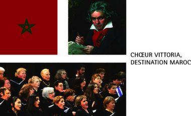 Visueel van project 9e symphonie de Beethoven : une coopération France-Maroc