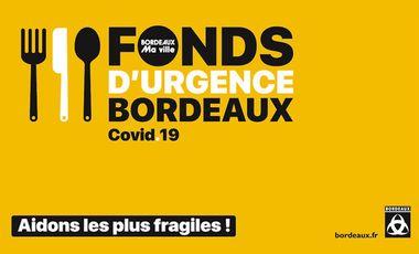 Visuel du projet Fonds d'urgence COVID Bordeaux