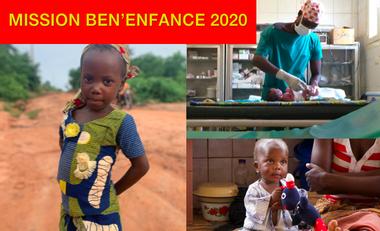 Visuel du projet Mission Ben'Enfance 2020
