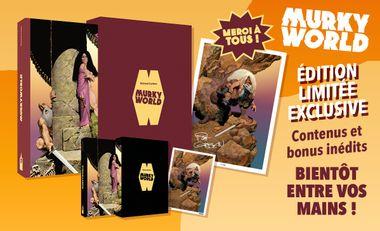 Project visual MURKY WORLD, le Nouveau CORBEN, en Edition LIMITEE et EXCLUSIVE