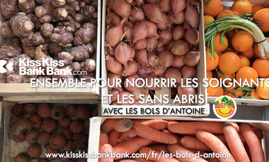 Visueel van project Ensemble pour nourrir les Soignants et les Sans-Abris