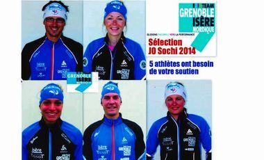 Visueel van project Objectif JO 2014 pour le Team Grenoble Isère Nordique