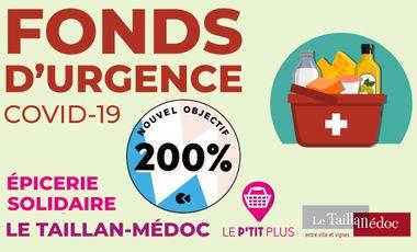 Visuel du projet Fonds d'urgence COVID Taillan-Médoc