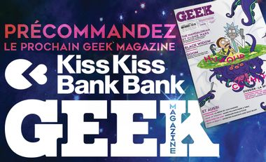 Project visual GEEK magazine