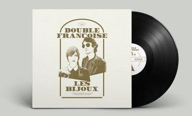 Project visual Premier album de Double Françoise en vinyle