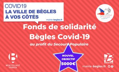 Visuel du projet Fonds de solidarité Bègles Covid-19