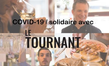 Project visual COVID-10 / solidaire avec Le Tournant