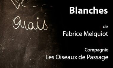 Project visual BLANCHES de Fabrice Melquiot