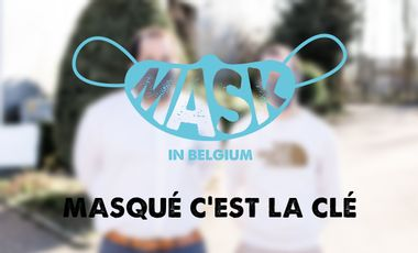 Project visual Mask in Belgium - Aidons nos soignants - COVID-19