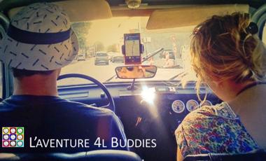 Project visual L'aventure des 4L Buddies - Hélène & Florent