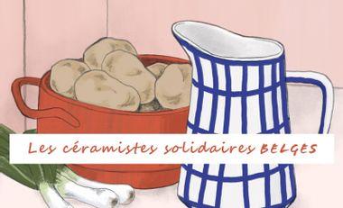 Visuel du projet Les céramistes solidaires belges
