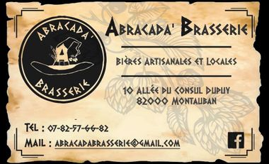 Project visual Abracada'Brasserie - Bières artisanales