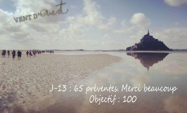 Visuel du projet Traversée solidaire de la Baie du Mont Saint Michel