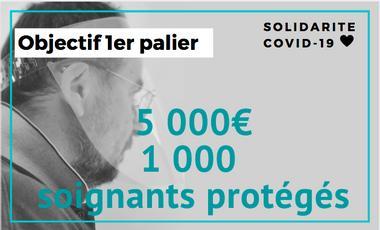 Project visual Des visières pour protéger les héros de la santé face au COVID-19