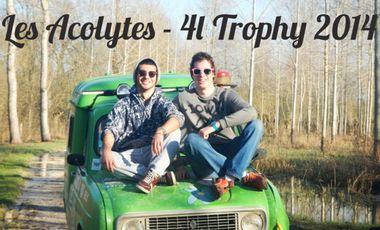 Visueel van project Les Acolytes - 4L Trophy 2014