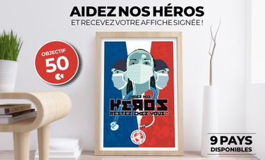 Project visual HEROES - Aidez nos héros