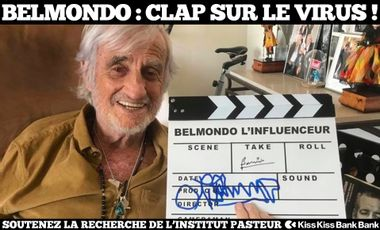 Project visual Belmondo : Clap sur le virus !