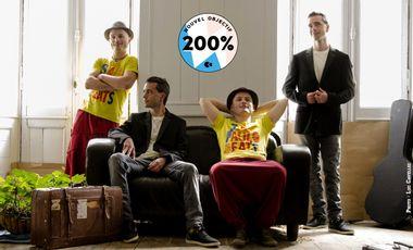 Visueel van project BOB & FLANAGHAN - Nouvel album : Jusqu'à l'aurore !