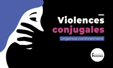 Visueel van project Urgence confinement : soutenons les victimes de violences conjugales