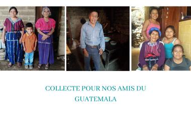Project visual Collecte pour nos amis du Guatemala