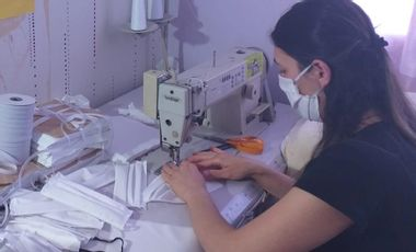 Visueel van project Des masques pour le personnel soignant