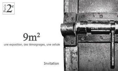 Visuel du projet 9m2 - Un événement pour comprendre l'enfermement carcéral