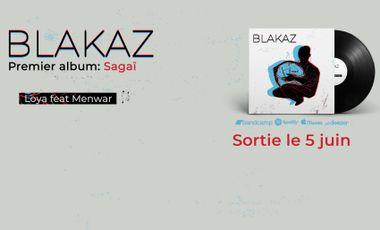 Visueel van project Premier album de Blakaz : Sagaï