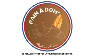 Visuel du projet Pain à dom' livre du pain frais et des viennoiseries à votre domicile !