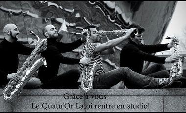 Visuel du projet Le Quatu'or Laloi rentre en studio!