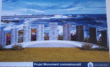 Visueel van project Mémorial en l'honneur des 529 Engagés Volontaires de St-Pierre et Miquelon