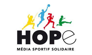 Visueel van project Hope, média sportif et solidaire
