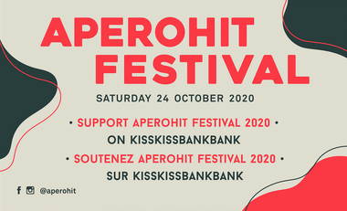 Project visual Aperohit Festival #2020