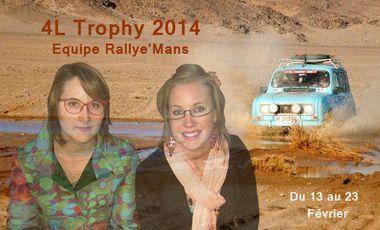 Visuel du projet Equipage Rallye'Mans - 4L Trophy 2014 !