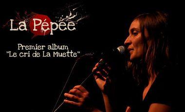 Visuel du projet Le premier album de La Pépée