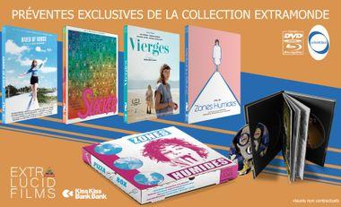 Visuel du projet Collection Extramonde : 4 films cultes en dvd/blu-ray collector !