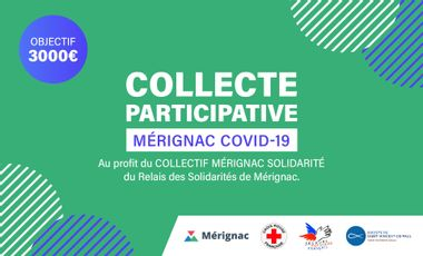 Project visual Collecte participative Mérignac Covid-19