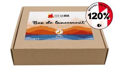 Project visual TOT VA BOX  - une box 100% catalane