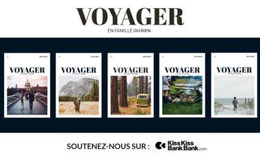 Visuel du projet Voyager en famille ou rien MAGAZINE