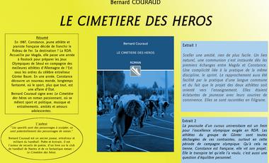Visuel du projet Roman historique et sportif : Le Cimetière des Héros, de Bernard Couraud