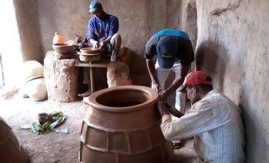 Visueel van project Les poteries du Covid-19