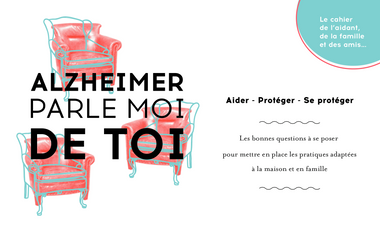 Visueel van project Alzheimer, parle moi de toi !