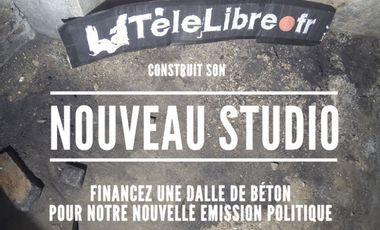 Project visual LaTéléLibre fait son studio !