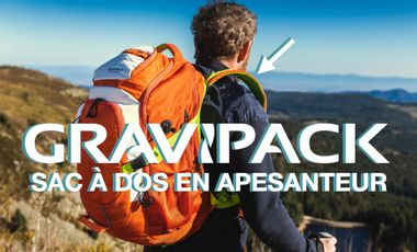 Project visual GRAVIPACK® - The weightless backpack