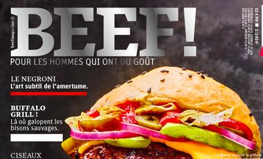 Visuel du projet BEEF! BARBECUE ET DECONFINEMENT !