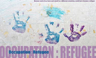 Project visual Occupation: Refugee
